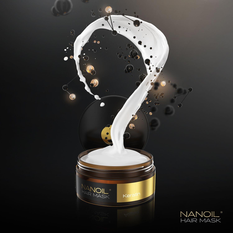 Nanoil - Haarmaske mit Keratin